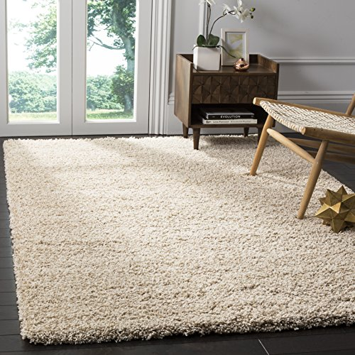 61skWuY1PXL - Safavieh California Premium Shag Collection SG151-1313 Beige Area Rug (8' x 10')