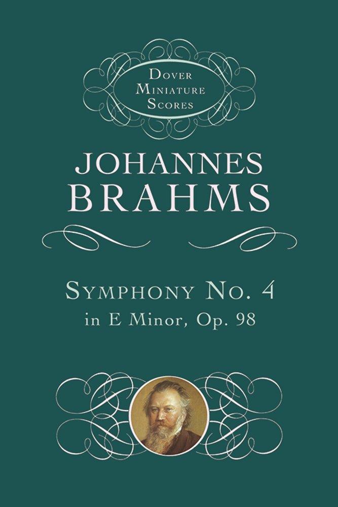 Symphony No. 4 in E Minor, Op. 98 (Dover Miniature Music Scores)
