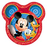 Unique Mickey Mouse Dinner Plates, 8-Count
