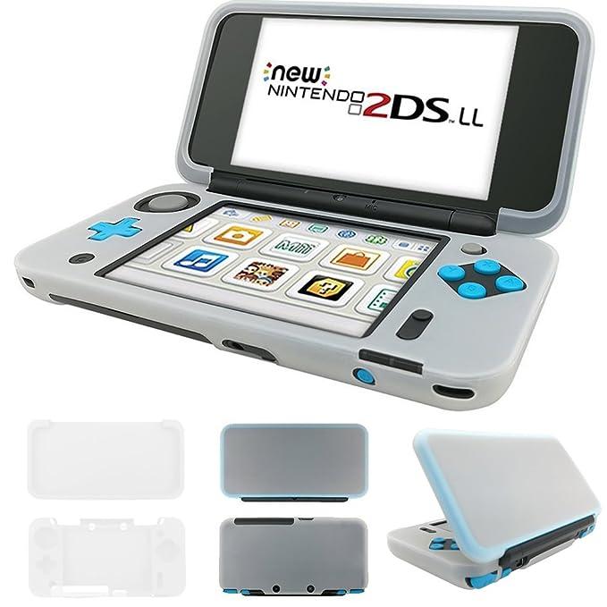 SNNC - Carcasa rígida para Nintendo 2DS XL y 2DSLL: Amazon ...