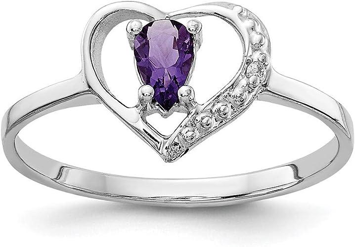 Jewelry Adviser Rings 14k A Diamond ring Diamond quality A I2 clarity, I-J color