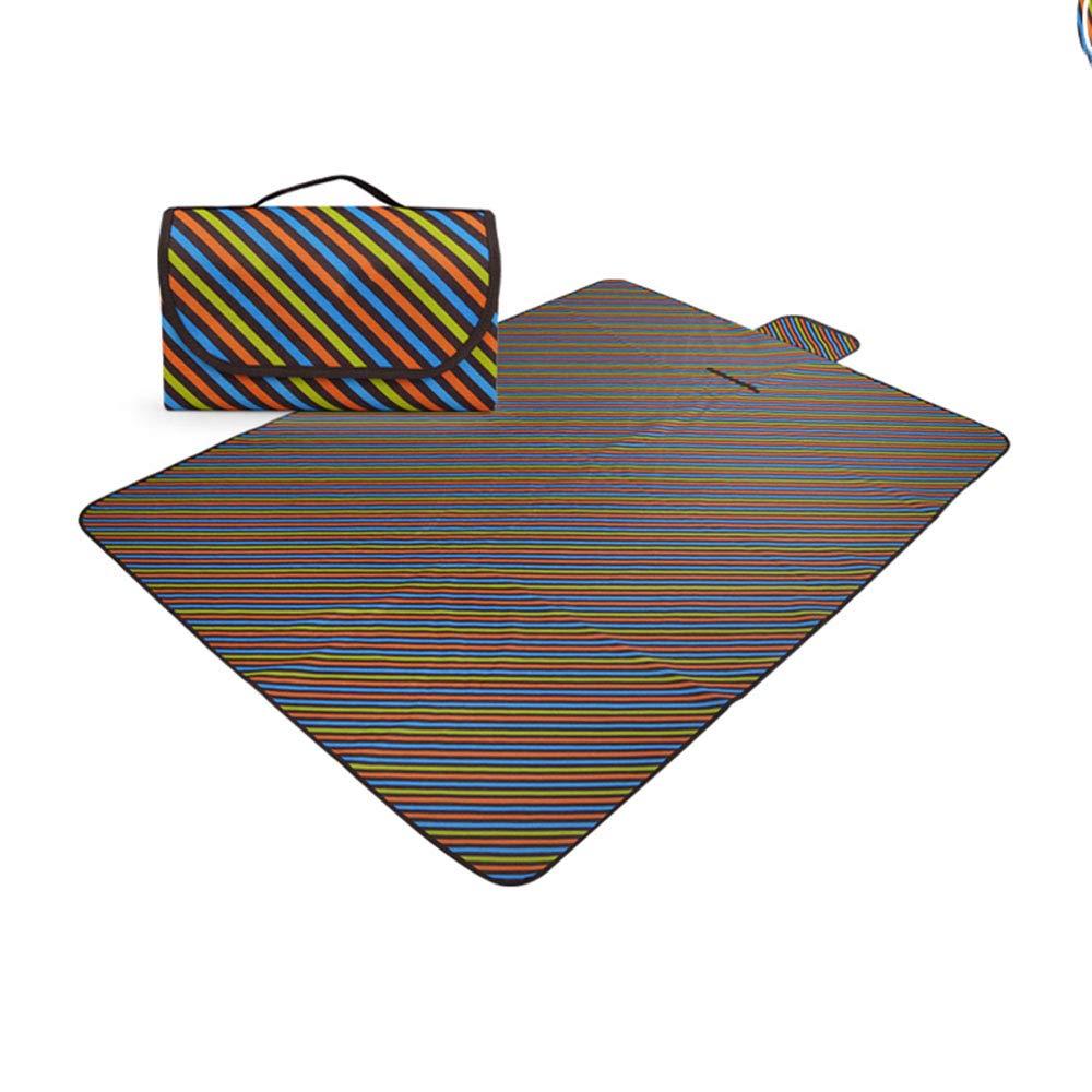 Pessica Außenfeuchtigkeits-dichte Außenfeuchtigkeits-dichte Außenfeuchtigkeits-dichte Picknick-Matte Wasserdicht erhöhen Picknick-Aufbewahrung Picknick-Matte 142  80cm,D B07Q6LBC6L | Offizielle  d07be3