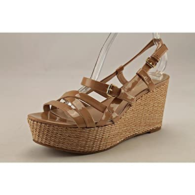 Via Spiga Womens Harmon Open Toe Casual Platform Sandals Nude Pa Size 75
