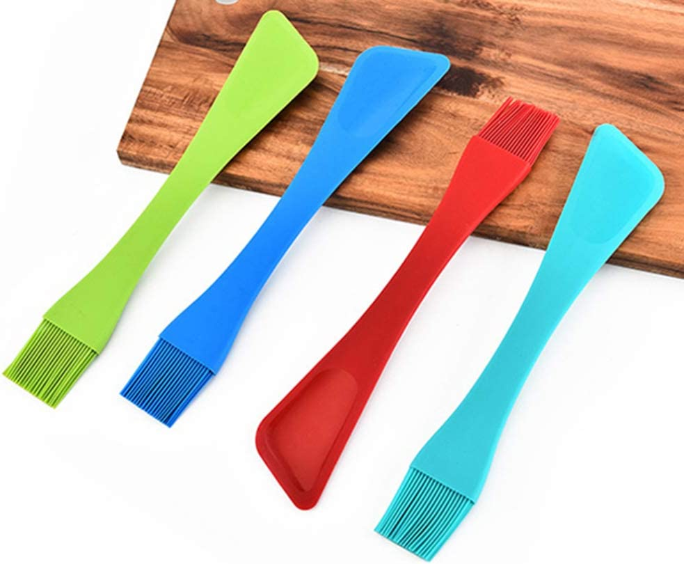 Kitchen Set Silicone Basting and Pastry Brush and Silicone Spatula 2pcs//set