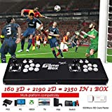 ElementDigital Arcade Game Console 1080P 3D & 2D Games 2350 in 1 Pandora's Box 160 3D Games 2 Players Arcade Machine with Arcade Joystick Support Expand 6000+ Games for PC / Laptop / TV / PS4