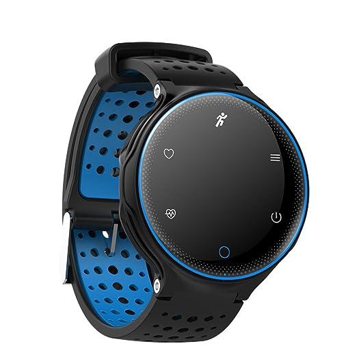 Hombre Smartwatches,Multifunción Reloj deportivo Resistente al agua 30 m vida Luminoso Aire libre Relojes digitales Estudiante Niño Contra la pérdida Anillo ...
