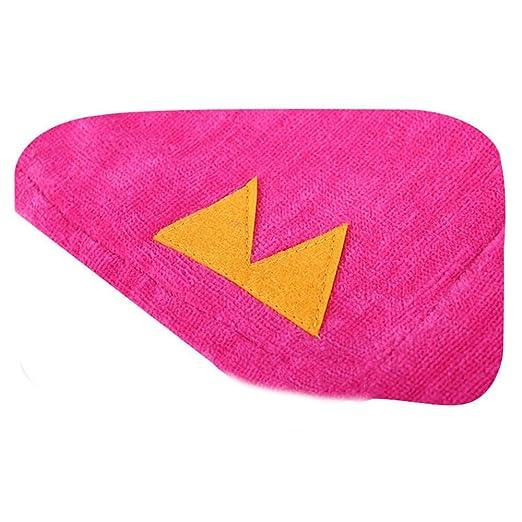 Toalla de toalla con poncho para niños Patrón de unicornio para ...
