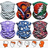 Headwear, Bandana, Neck Gaiter, Head Wrap, Headband for Men and Women, Multifunctional Head Scarf, Face Mask, Balaclava, Magic Scarf, Sweatband for Fishing, Yoga, Motorcycling