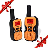 Amazon Price History for:UOKOO Kids Walkie Talkies, 22 Channel FRS/GMRS 2 Way Radio 2 miles (up to 3.7 Miles) UHF Handheld Walkie Talkies for Kids (1 Pair) Orange