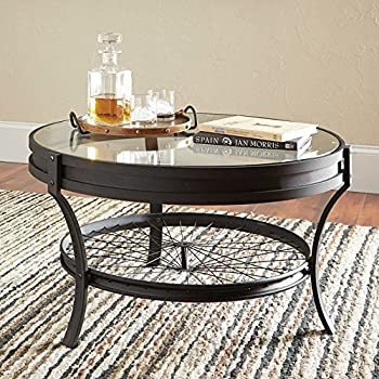 Amazoncom COFFEE TABLE 40DIAx20H KitchenDining
