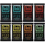 Redd Gluten Free Plant Based Superfood Energy Bar Variety Pack, 8 Count (Packaging May Vary)