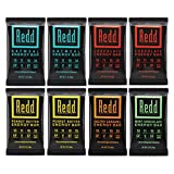 Redd Gluten Free Plant Based Superfood Energy Bar Variety Pack, 8 Count