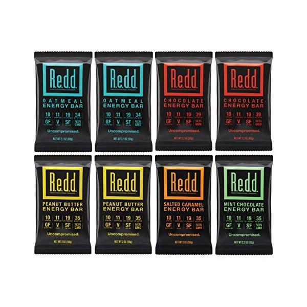 Redd Plant-Based Superfood Energy Bars