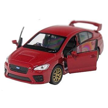 Welly 1 34 1 39 Die Cast 2015 Subaru Impreza Wrx Sti Car Red Model