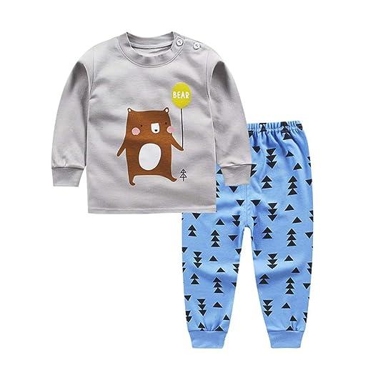5fb0e28b0 Amazon.com  Fairy Baby Infant Boys Girls Clothes 2pcs Cartoon Shirt ...