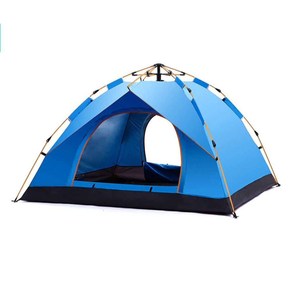 Fptcustom Automatische Outdoor Zelt, 3-4 Strandzelt Uv-wasserdicht Wilde Hydraulische Campingzelt