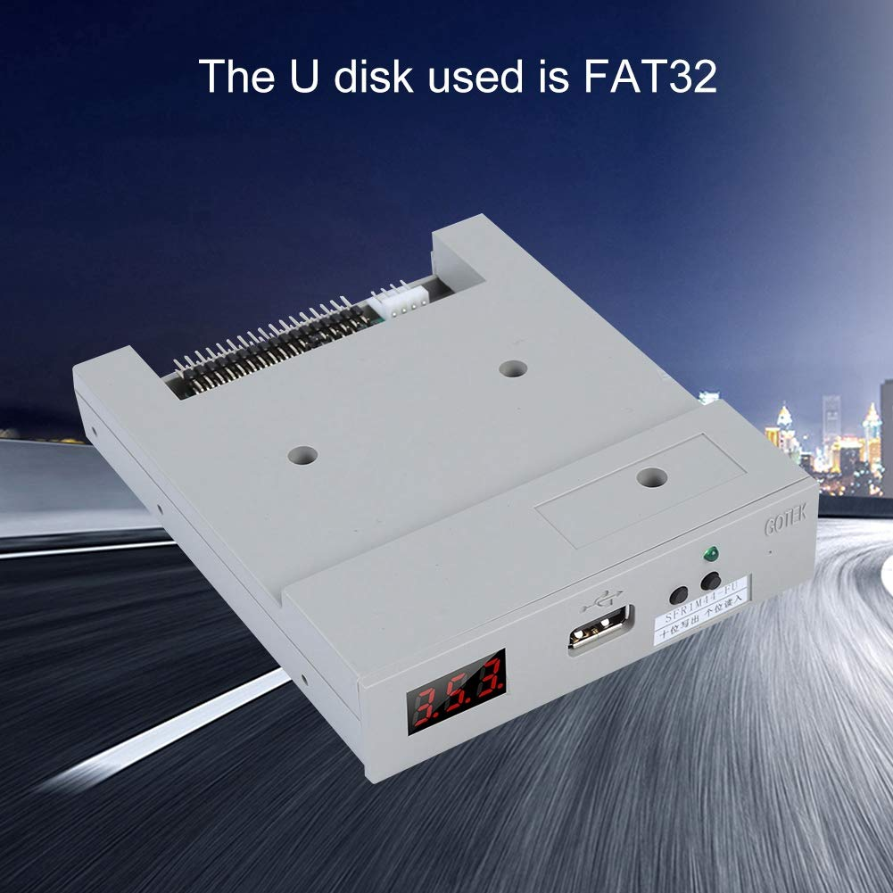 fosa Floppy & Tape Drives SFR1M44-FU USB Floppy Drive Emulator for Embroidery Machine Plug and Play Floppy to USB Converter with 3.5In 1.44MB 34-Pin Floppy Disk Driver Interface by fosa (Image #7)