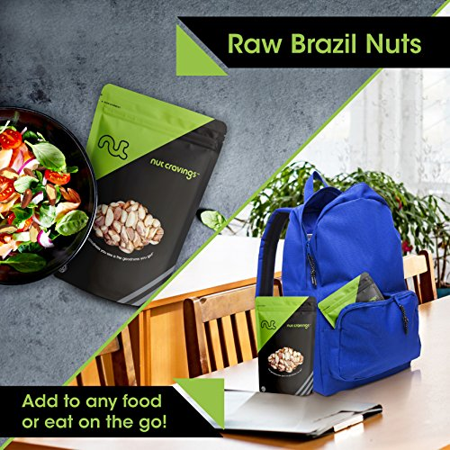 Nut Cravings Raw Brazil Nuts (2 Pounds) – Whole, Compare To Organic, Unsalted, No Shell Brazilian Nuts – 32 Ounce by Nut Cravings (Image #2)