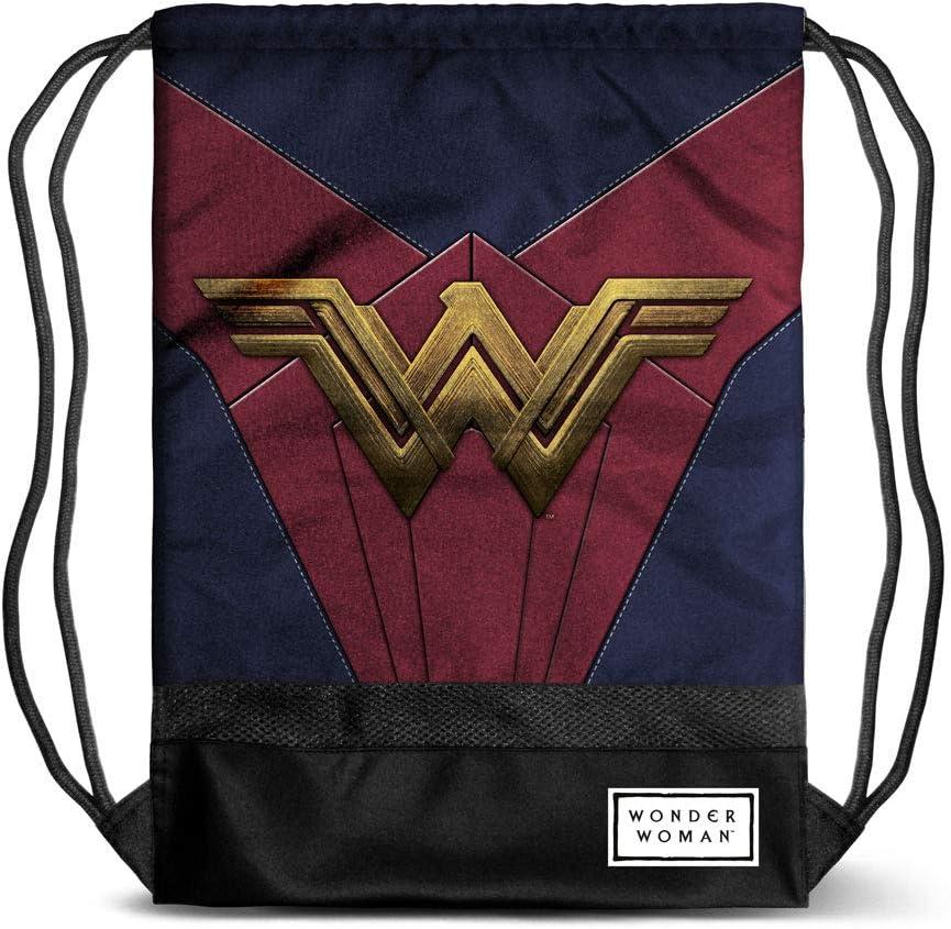 Karactermania Wonder Woman Emblem - Bolsa de Cuerdas, 47 cm, Multicolor: Amazon.es: Equipaje