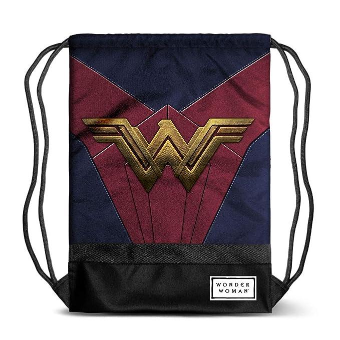 Multicolore Karactermania Wonder Woman Emblem-Storm Turnbeutel Sacca Multicolour 48 cm