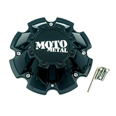Moto Metal CAP M-793 M793BK01 Black Wheel Center Cap: Automotive