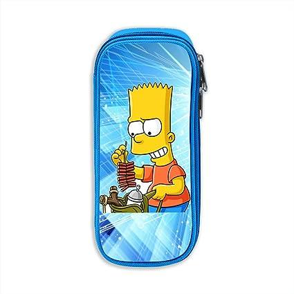 Amazon.com : LiuYeWen Bart Simpson Girls Classic Pencil Bag ...