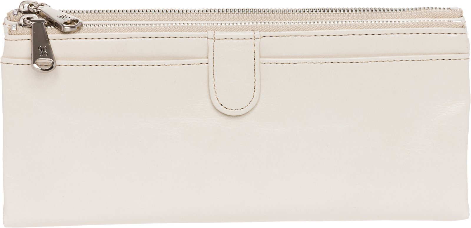 HOBO Womens Leather Vintage Taylor Clutch Wallet (Magnolia)