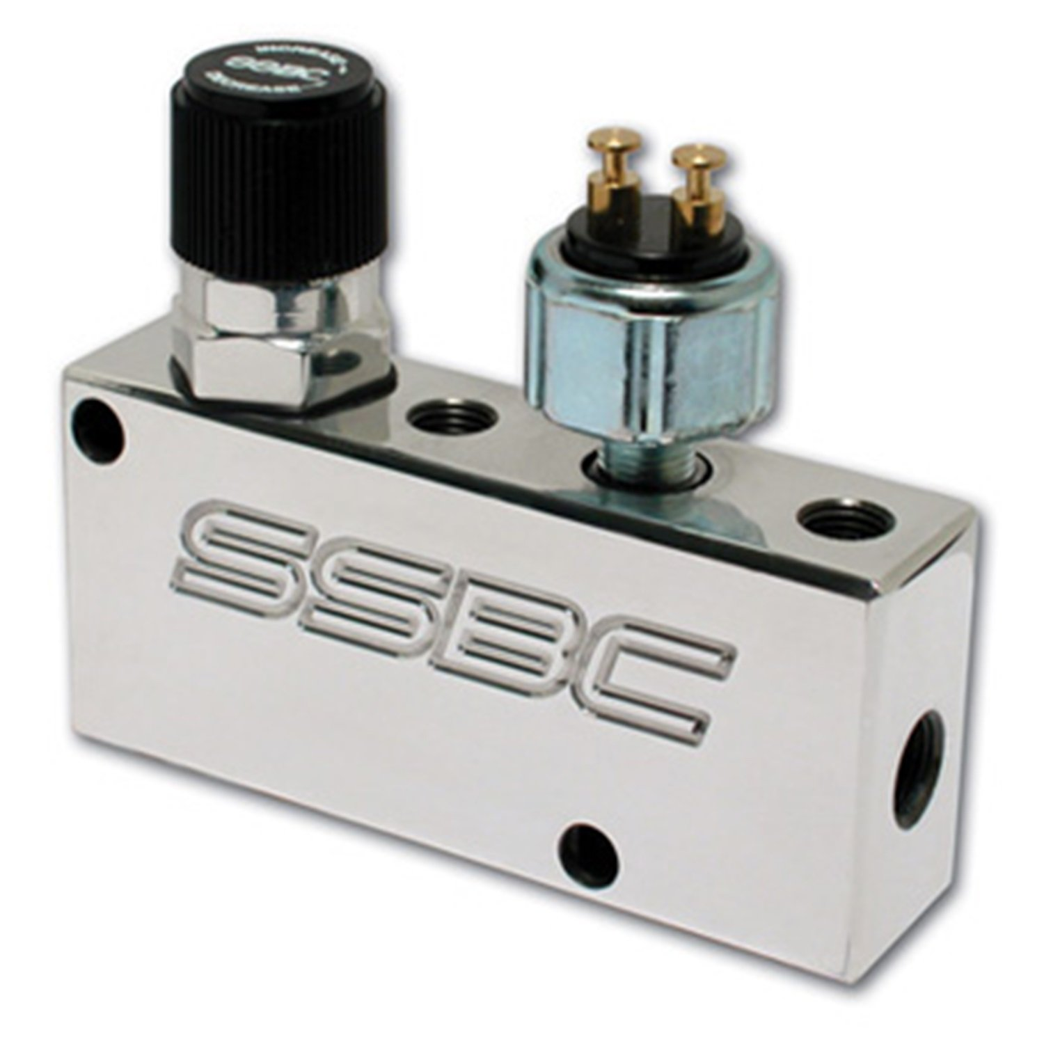 SSBC A0730P Polished Finish Adjustable Proportioning Valve and Distribution Block by SSBC