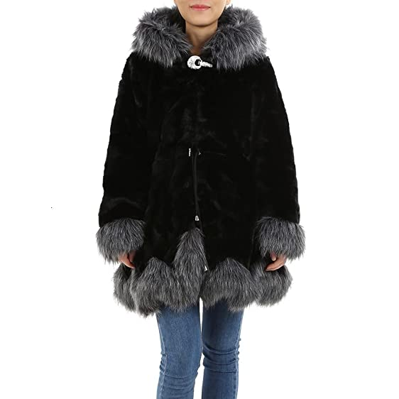 MORESAVE Winter Women Faux Fox Fur Coat Luxury Long Fake Fur ...