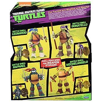 Teenage Mutant Ninja Turtles Battle Shell Raphael Action Figure 4
