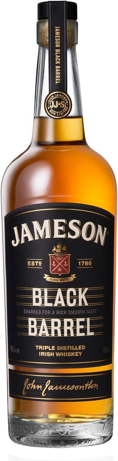 Jameson Black Barrel Whiskey Irlandés, 700 ml