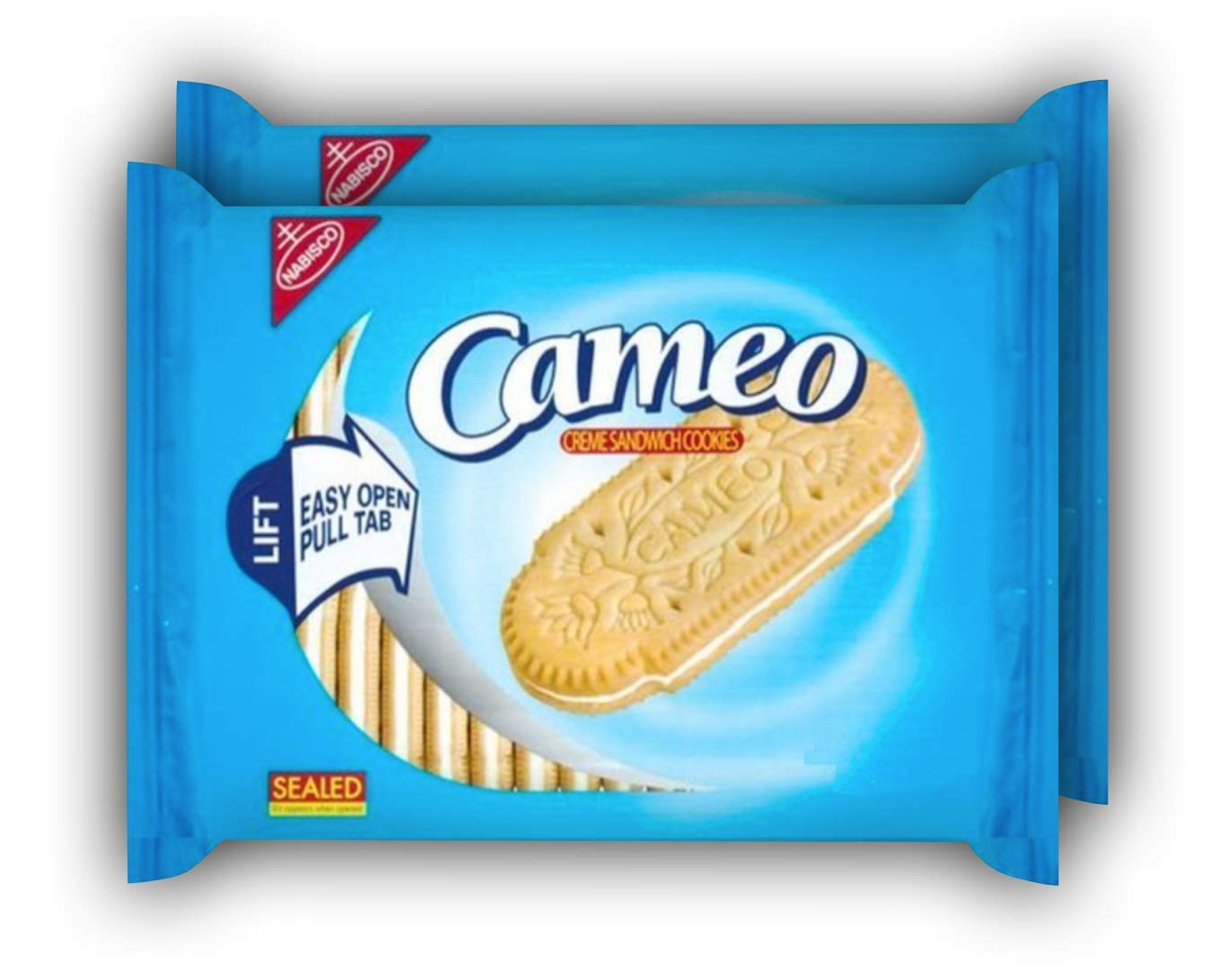 Nabisco Cameo Creme Sandwich Cookies, 14.5 Oz (Pack of 2) by Nabisco