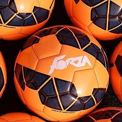 Forza Training - Balón de fútbol (talla 4 o 5) , color naranja ...