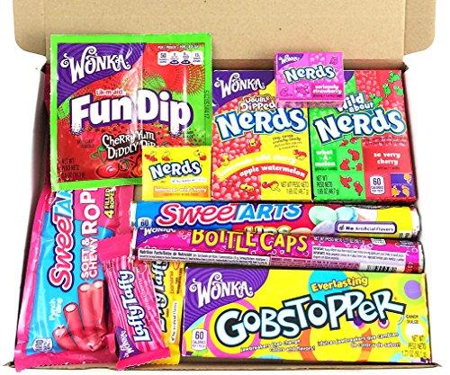Heavenly Sweets Amerikanischer Wonka-Süßigkeiten Geschenkkorb - Small