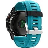Band for Garmin Fenix 3 / Fenix 3 HR / Fenix 5X , Soft Silicone Wristband Replacement Watch Band for Garmin Fenix 3 / Fenix 3 HR / Fenix 5X Smart Watch
