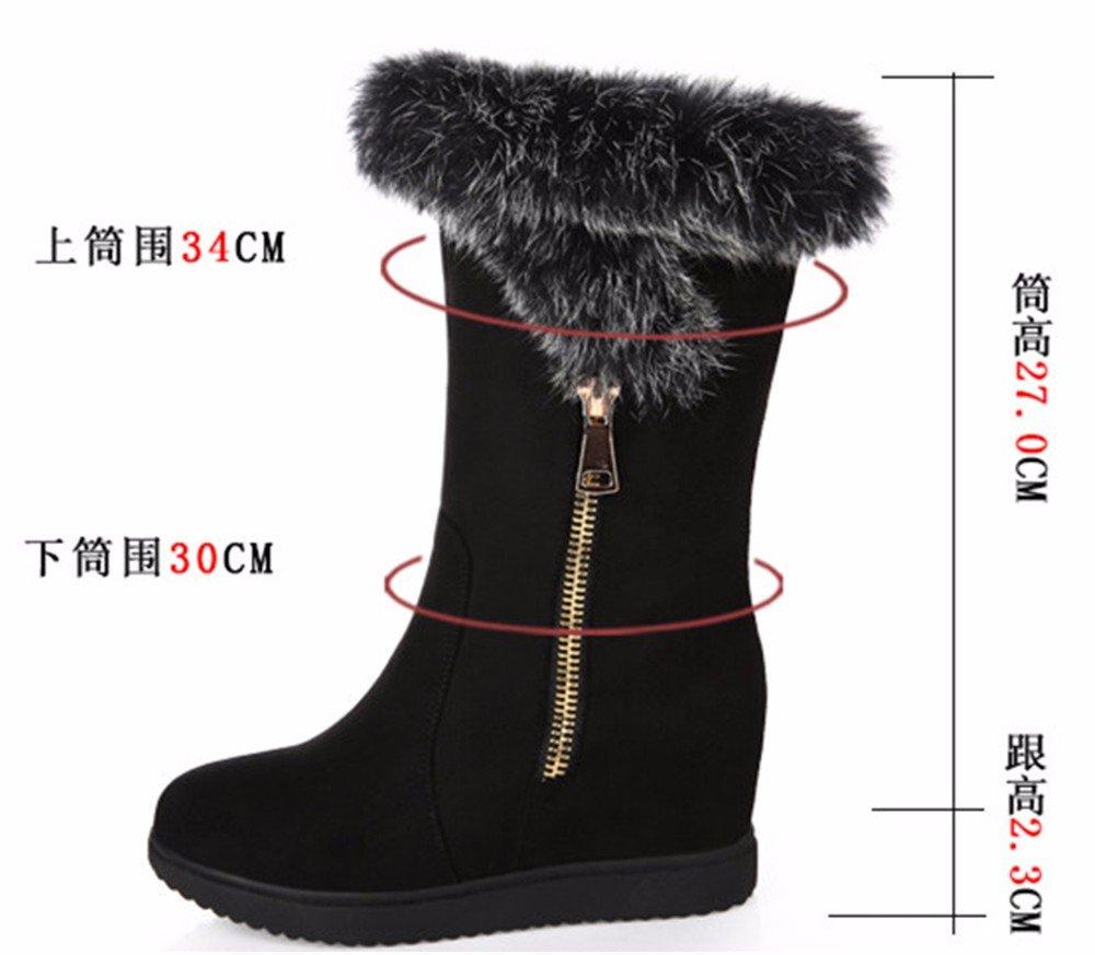 FLYRCX FLYRCX FLYRCX Herbst und Winter Mode Damen Freizeit Schuhe mit Samt warme Schuhe slip 0afa49