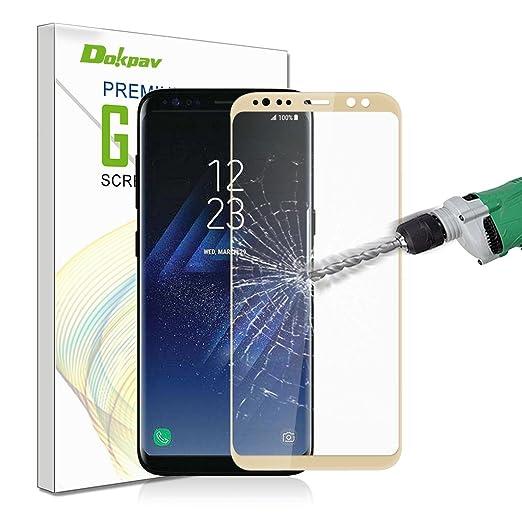 49 opinioni per Samsung Galaxy S8 Pellicola Protettiva, Dokpav® 2PCS Ultra Sottile 3D