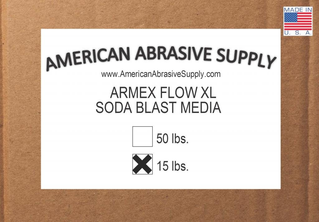Armex Flow XL Soda Blast Media (15 lbs.)