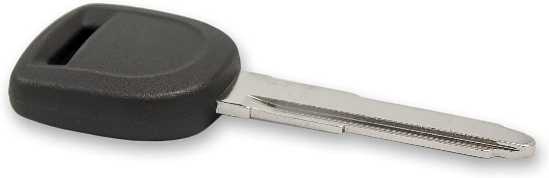 2 Pack Keyless2Go New Uncut Replacement Transponder 80-Bit Ignition Car Key MZ24 MZ34
