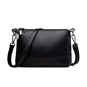 a205b42bef21f Umhängetasche Damen Kleine PU Leder Elegant Retro Vintage Crossbody  Ausgehtasche Damen Handtasche Schultertasche Handtasche Messenger Tasche