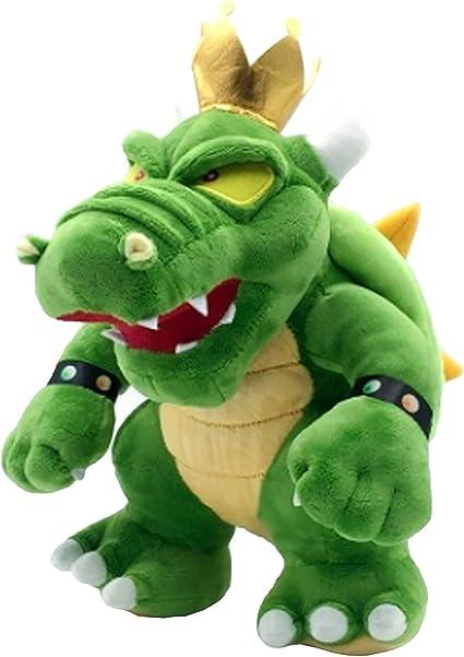 Super Mario Bros Dark Bowser Koopa Plush Toy Soft Stuffed Doll 12/'/'