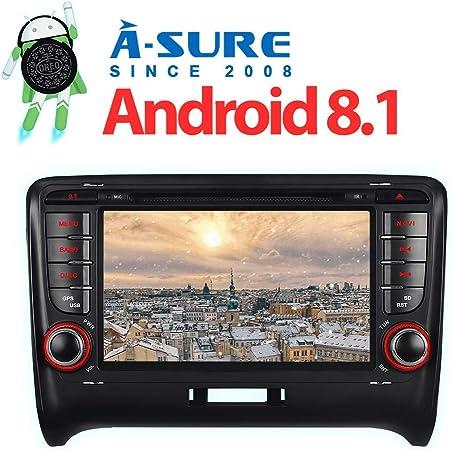 A Sure 7 2gb Ram Android 8 1 8 0 Autoradio Dvd Gps Auto Navigation Mirrorlink 1024 600 Wifi Wlan Bluetooth 4g Obd Dab Dvb T2 Usb Sd Navi Für Audi Tt Kuttj Navigation
