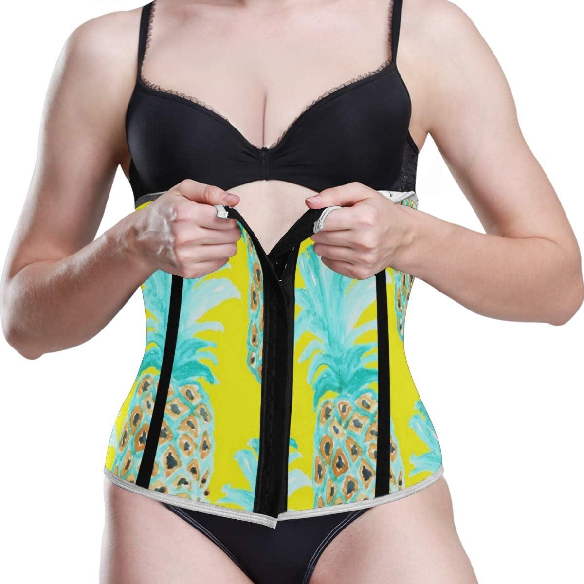 Trimmer Belt Wrap Stomach Slim Fat Burn Weight Loss Body Shaper GYM Pineapple