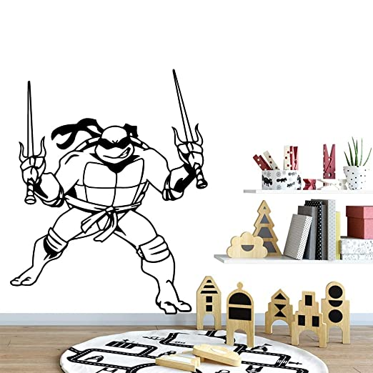 pegatina de pared 3d Cartoon Teenage Mutant Ninja Turtles ...