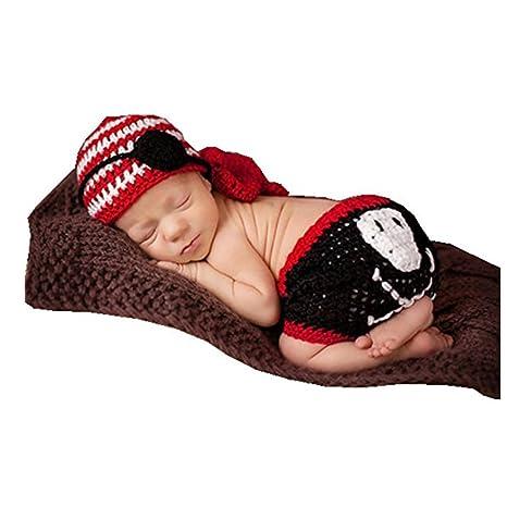 Fashion recién nacido niño niña bebé disfraz fotografía Props ...