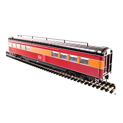 Southern Pacific 687 Morning Daylight Passenger Car - 1941 Prewar - Tavern Car with Antenna #10314, HO - Broadway Limited: Toys & Games