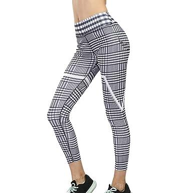 Mosstars Pantalones Deportivos Mujer Yoga Pantalones ...