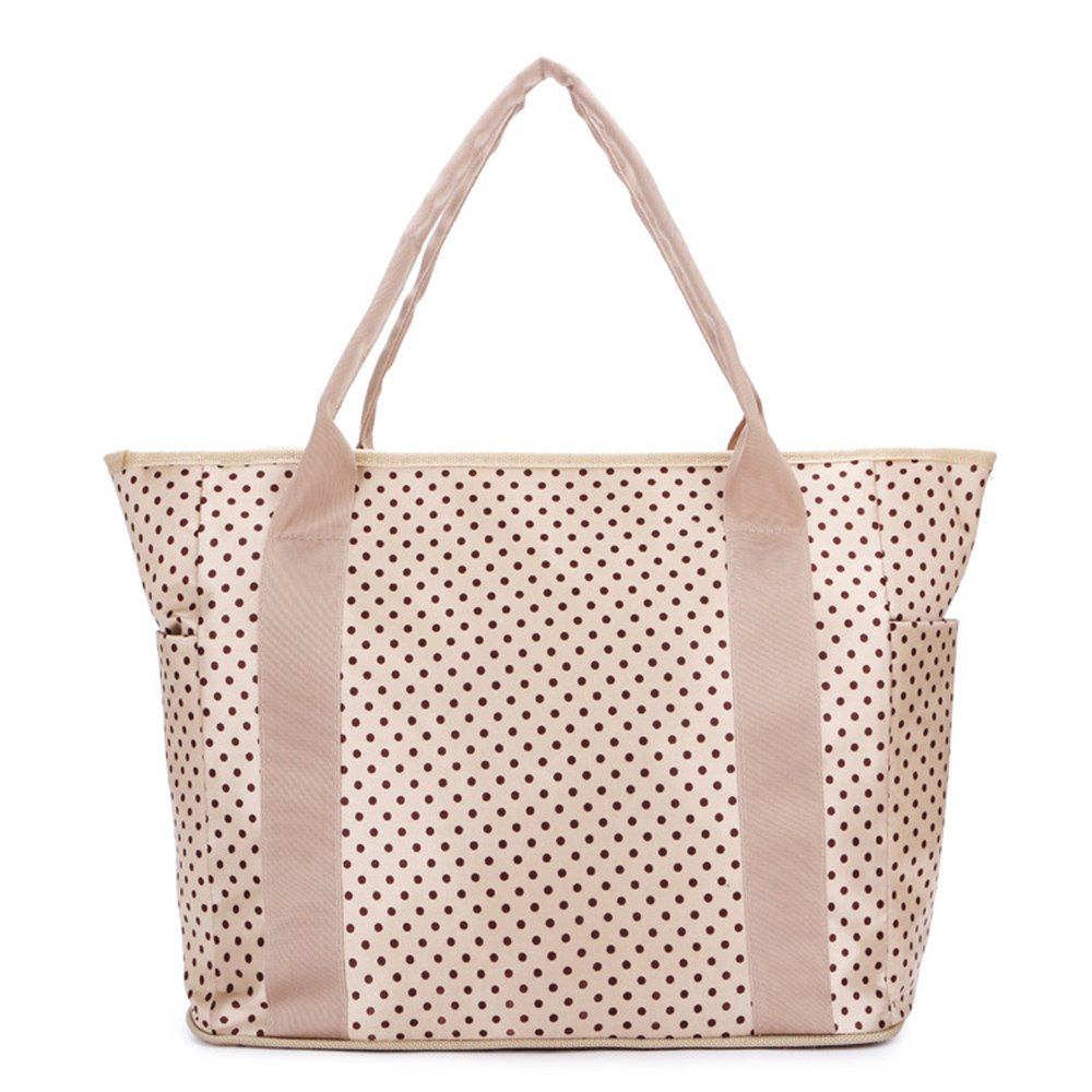 Multifunctional Diaper Tote Bag Mommy Travel Bags (khaki)