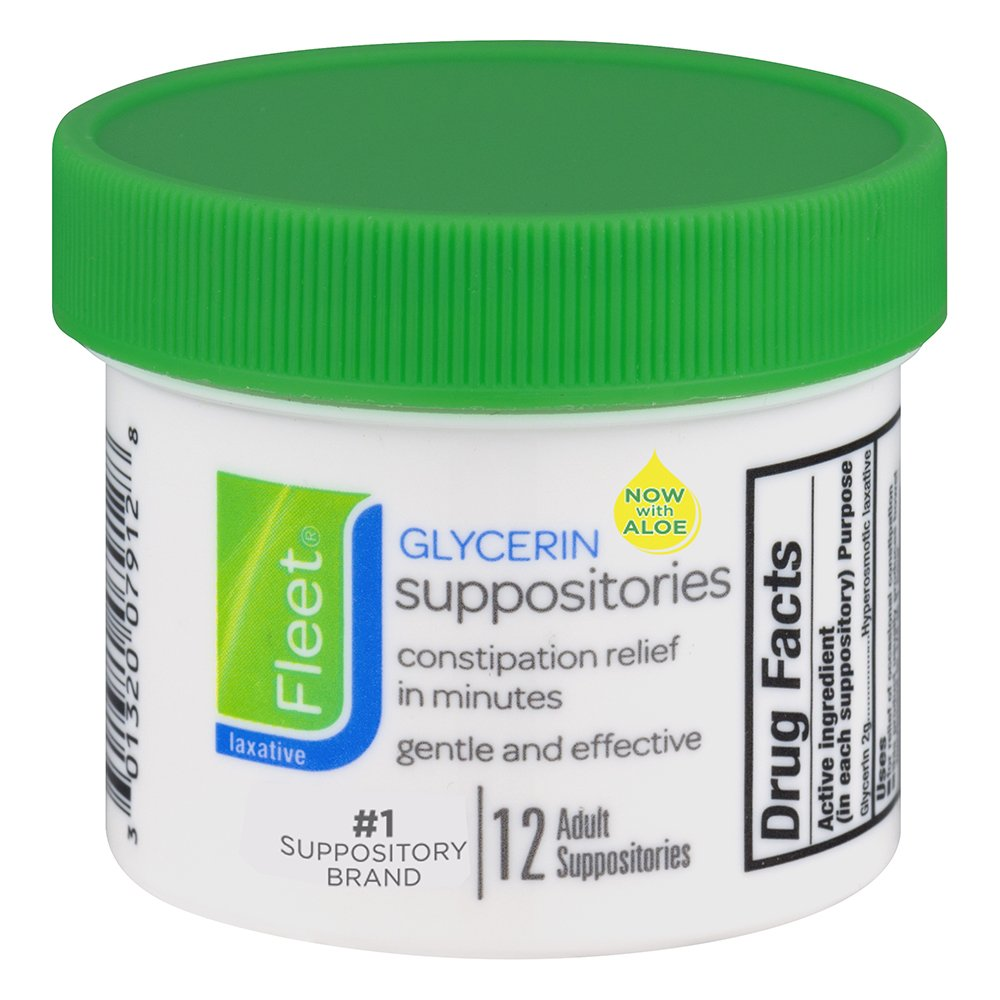 Do glycerin suppositories help with constipation? 37