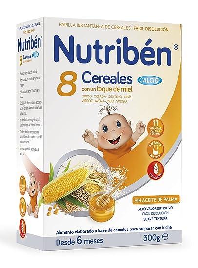 NUTRIBEN - NUTRIBEN 8 CER MIEL CAL 300 G